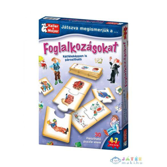 Keller és Mayer - Játszva Megismerjük A Foglalkozásokat (Keller Mayer, 712093)