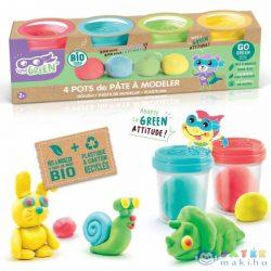Canal Toys: Super Green Környezetbarát Gyurma, 4 Db-os (Kensho, ECO007)