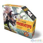 Wow: Formapuzzle Junior - 100 Db, Triceratopsz (Kensho, 4015-Tric)