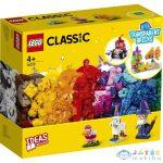 Lego Classic: Kreatív Áttetsző Kockák 11013 (Lego, 11013)
