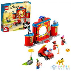 Lego Disney: Mickey And Friends Mickey És Barátai Tűzoltóság És Tűzoltója 10776 (Lego, 10776)