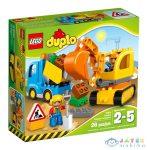 Lego Duplo: Teherautó És Lánctalpas Exkavátor 10812 (Lego, 10812)