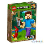 Lego Minecraft: Bigfig Steve Papagájjal 21148 (Lego, 21148)