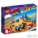 Lego Movie 2: Emmet És Benny Építő És Javító Műhelye! 70821 (Lego, 70821)