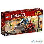 Lego Ninjago: Kai Pengés Motorja És Zane Motoros Szánja 70667 (Lego, 70667)