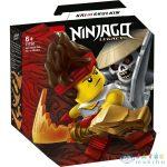 Lego Ninjago: Hősi Harci Készlet - Kai Vs Skulkin 71730 (Lego, 71730)