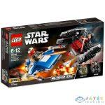 Lego Star Wars: A-Szárnyú Vs. Tie Silencer Microfighters 75196 (Lego, 75196)