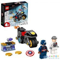 Lego Super Heroes: Amerika Kapitány És Hydra Szemtől Szembe 76189 (Lego, 76189)