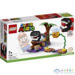 Lego Super Mario: Chain Chomp Találkozás A Dzsungelben Kiegészítő Szett 71381 (Lego, 71381)
