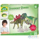 Lena: Dinoszaurusz Kreatív Készlet (LENA, 42644)