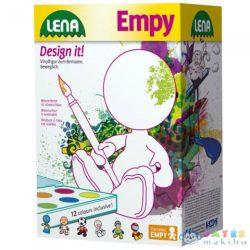 Lena: Empy Golyófejű Kifesthető Ülő Fiú Figura 18Cm (LENA, 42826)