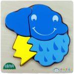 Lena: Felhő Fa Puzzle (LENA, 32134)