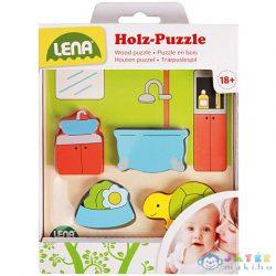 Lena: Fürdőszoba Fa Puzzle (LENA, 32143)