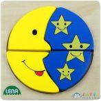 Lena: Hold És A Csillagok Fa Puzzle (LENA, 32132)