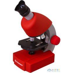 Bresser Junior 40X-640X Mikroszkóp, Piros (Levenhuk , 70122)