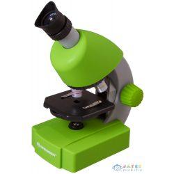 Bresser Junior 40X-640X Mikroszkóp, Zöld (Levenhuk , 70124)