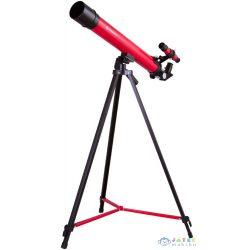 Bresser Junior Space Explorer 45/600 Az Teleszkóp, Piros (Levenhuk , 70132)