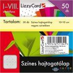 Színes Hajtogatólap - 10X10 Cm - 50 Db (Lizzy Card, 657)