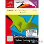 Színes Hajtogatólap - 12X16 Cm - 50 Db (Lizzy Card, 658)