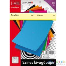 Színes Kivágópapír - 1-8. Osztály (Lizzy Card, 659)