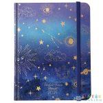 Viszkok Fruzsi: Planall Night Star - Heti Tervező, B5 (Lizzy, 17356)