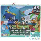 Állati Party 48Db-os Padló Puzzle 60X90Cm (Luna, 621014)