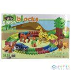 Blocks Flexi: Állatkert Építőjáték 86Db-os (Luna, 658300)