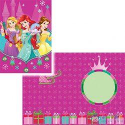 Disney Hercegnők Karácsonyi Üdvözlőlap Háromféle Változatban (Luna, 561942)