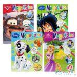 Disney Színező Füzet A/4-Es Négyféle Változatban (Luna, )