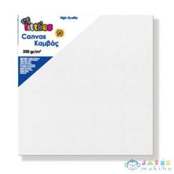 Feszített Fehér Festővászon 20X20Cm (Luna, 000646219)