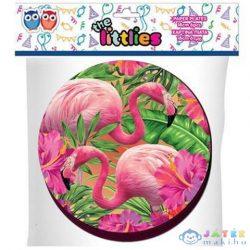 Flamingós Közepes Papírtányér 18Cm 6Db (Luna, )