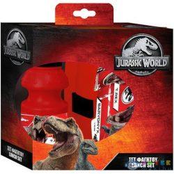 Jurassic World Kulacs És Uzsonnás Doboz Szett (Luna, )