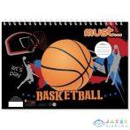 Kosárlabdás Színező Szett Kiegészítőkkel (Luna, )