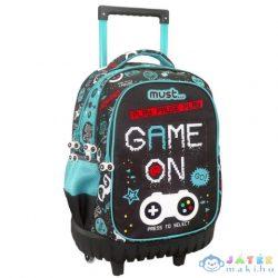 Must Game On Ergonomikus Gurulós Iskolatáska Hátizsák (Luna, 579983)