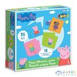 Peppa Malac Memóriajáték 36 Db Kártyával (Luna, )