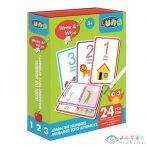 Számok 24Db-os Oktató Játék Kártyákkal (Luna, 621501)