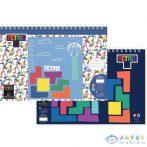 Tetris Vázlatfüzet Matricákkal És Sablonnal (Luna, 504032)