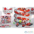 3-Emeletes Parkolóház Tűzoltóautókkal, Fénnyel És Hanggal (Magic Toys, MKL374414)