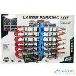 7 Szintes Dupla Parkolóház 8Db Kisautóval, Lifttel Játékszett (Magic Toys, MKL419675)