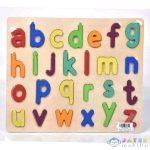 Abc Írott Kisbetűs Formaillesztő Színes Fa Puzzle 26Db-os Szett (Magic Toys, MKL543704)
