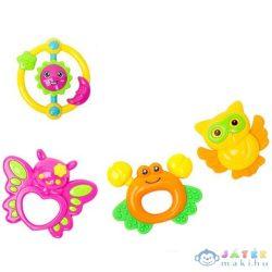 Állatos Csörgő És Rágóka 4Db-os Szett (Magic Toys, MKL083921)