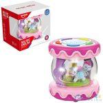 Asztali Körhinta Fény És Hang Effektekkel Pink Színben (Magic Toys, MKJ743002)