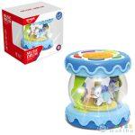 Asztali Körhinta Fény És Hang Effektekkel Kék Színben (Magic Toys, MKJ742993)