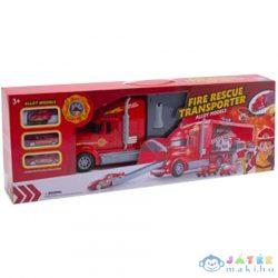 Átalakítható Tűzoltókamion Hordozható Szett (Magic Toys, MKL302252)