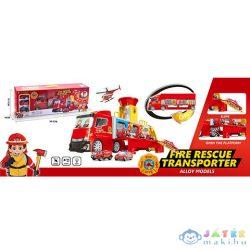 Átalakítható Tűzoltósági Kamion Szett Funkciókkal (Magic Toys, MKL302270)