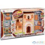 Babaház Bútorokkal, Fénnyel És Hanggal 33X32Cm (Magic Toys, MKK154266)