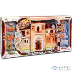 Babaház Bútorokkal, Fénnyel És Hanggal 50X32Cm (Magic Toys, MKK154248)