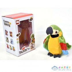 Beszélő Színes Plüss Papagáj (Magic Toys, MKL272813)
