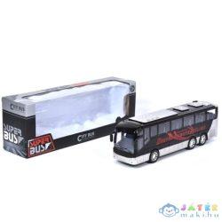 City Bus Turistabusz Fekete-Fehér (Magic Toys, MKL090500)