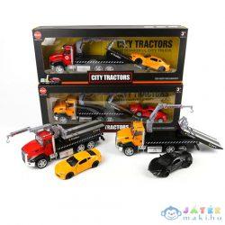 City Tractors Fém Autószállító Sportkocsival Kétféle Változatban (Magic Toys, MKL506561)